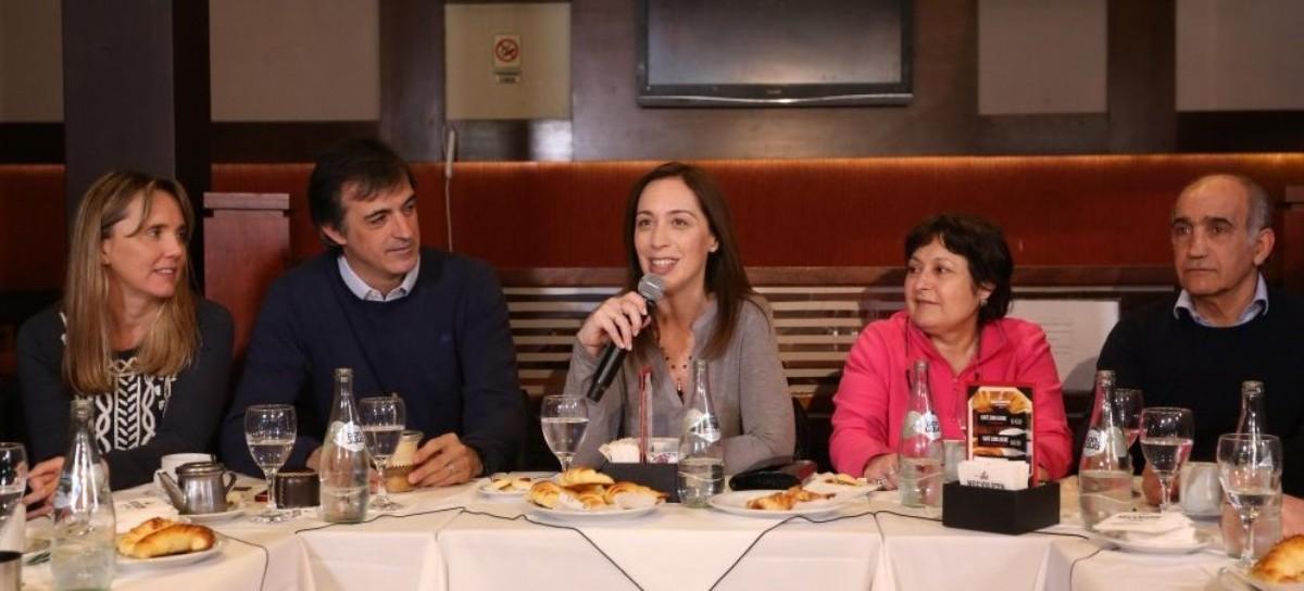 """Tras votar en Castelar, la gobernadora Vidal dijo que """"hay que seguir escuchando todos los días"""""""