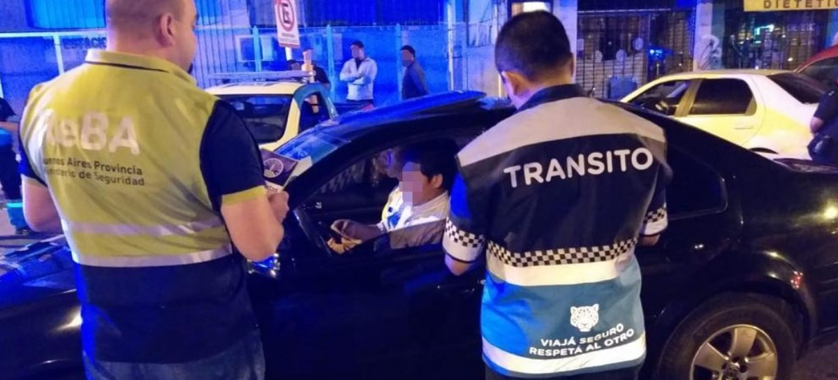 Durante el fin de semana hubo intensos operativos de control de alcoholemia en territorio bonaerense