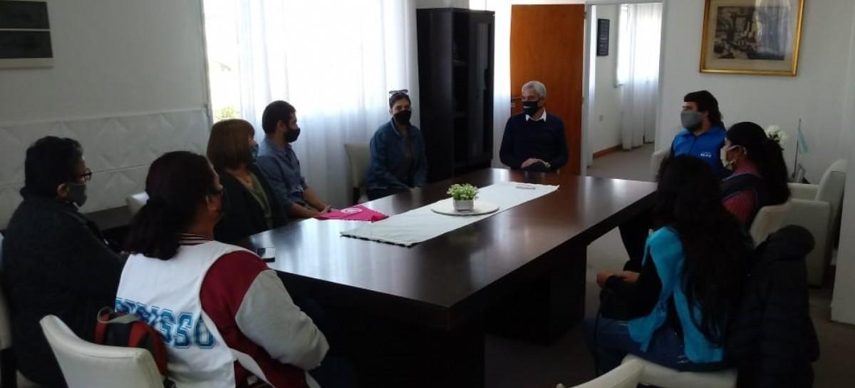 Berisso: el intendente Cagliardi recibió a organizaciones sociales, que le expresaron preocupaciones