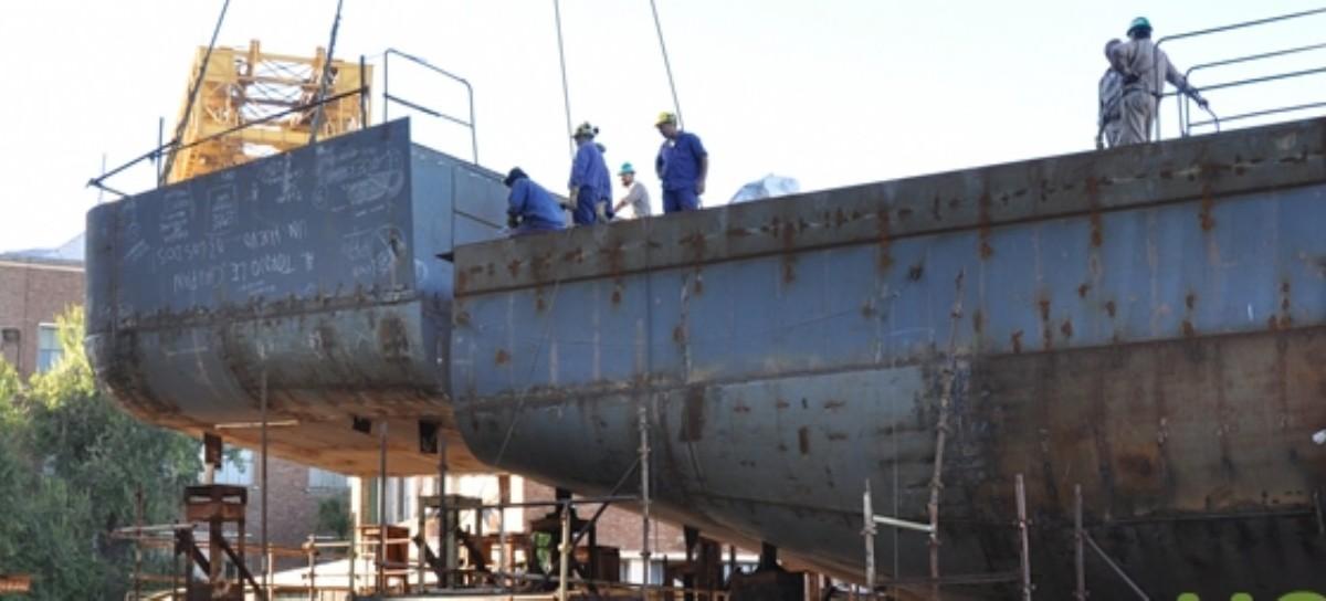 La gobernadora Vidal hizo fuertes cambios en el Astillero Río Santiago: los trabajadores, en alerta