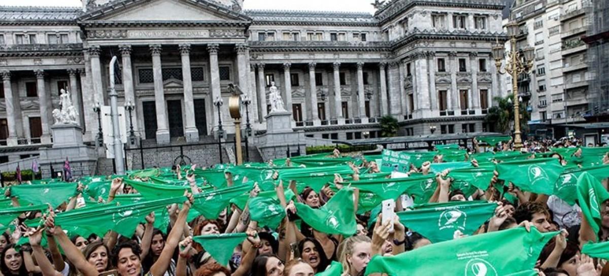 LEGALIZACIÓN DEL ABORTO: Un día de debate que quedará en la historia del Congreso