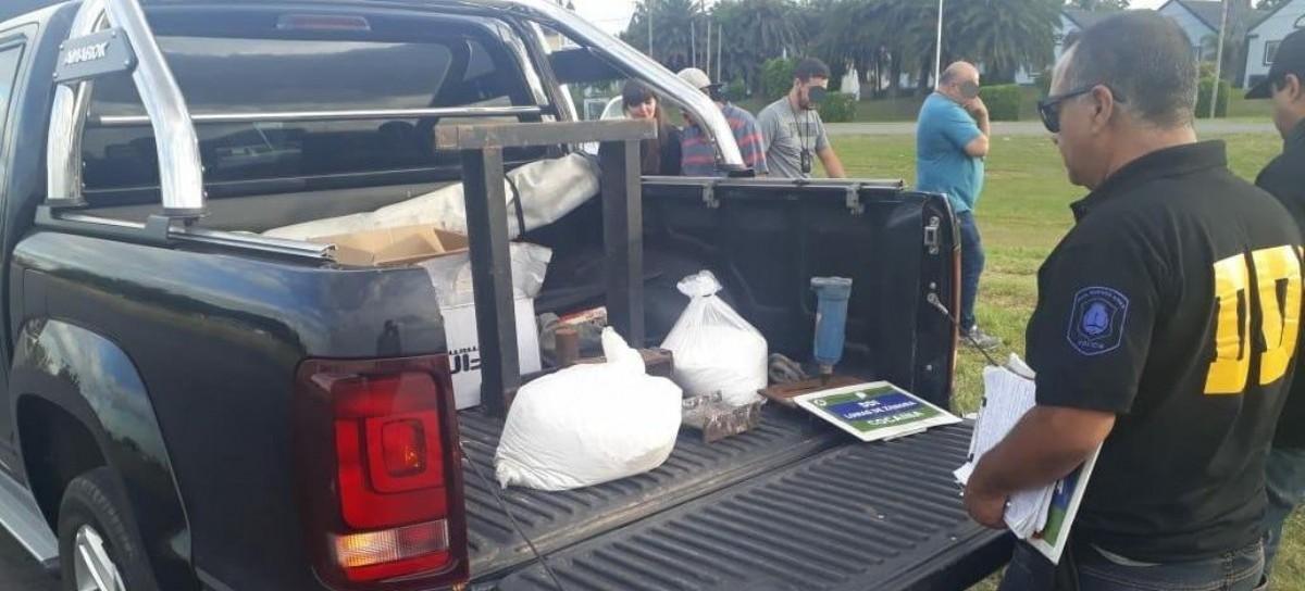 Llevaban más de 16 kilos de cocaína en una Amarok robada: fueron interceptados y los detuvieron