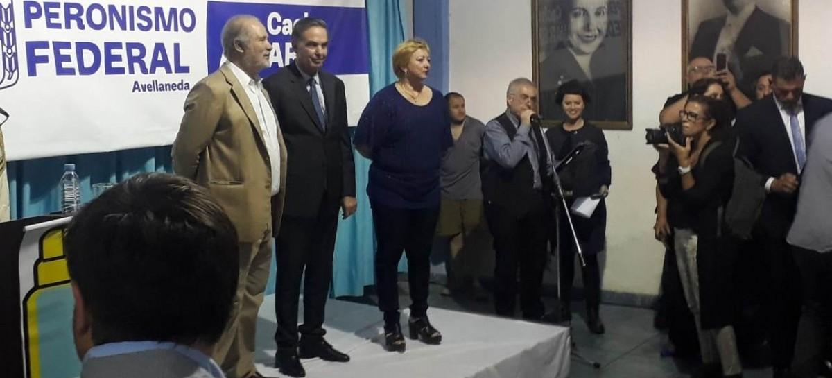 """Miguel Pichetto, de campaña en Avellaneda: """"Representamos el orden y la seguridad de los argentinos"""""""