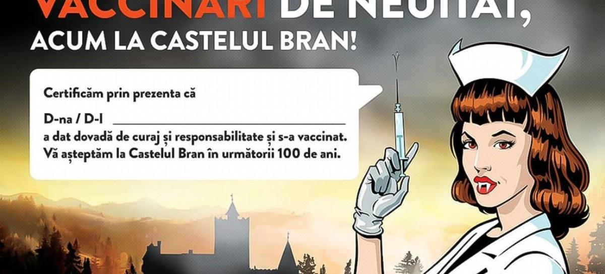 Prometen vacunar a quienes visiten el castillo de Drácula