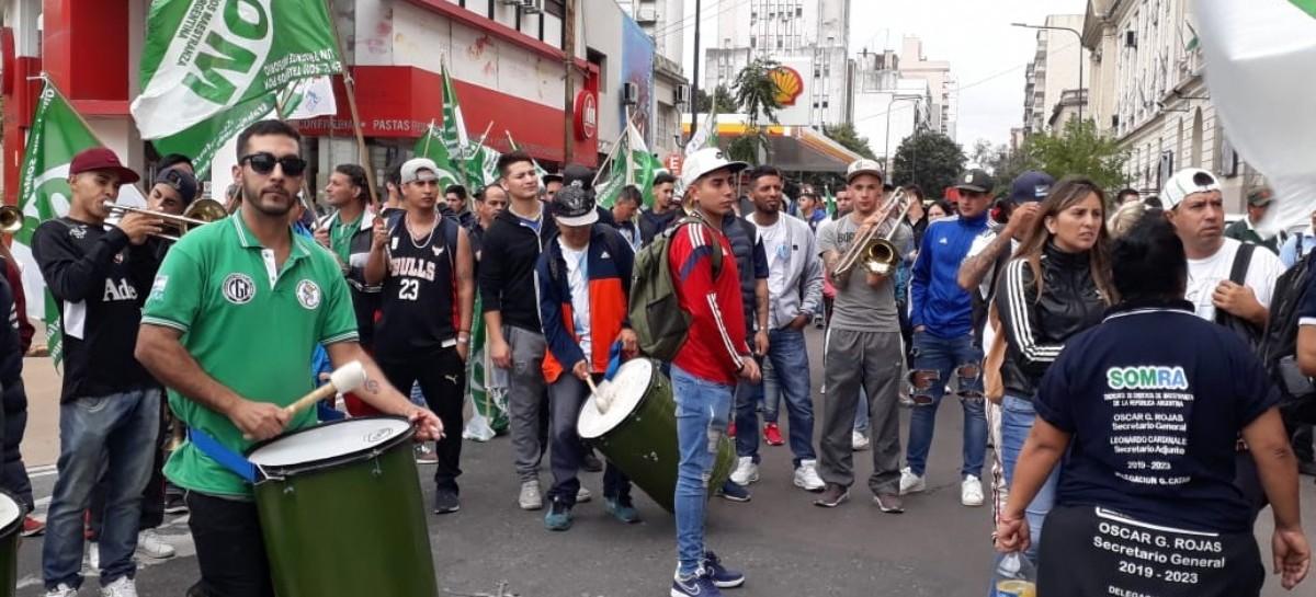 """En la ciudad de la furia: Caos en la zona de """"Economía"""" por protesta de Empleados de Maestranza"""