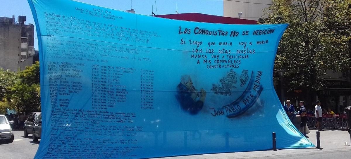 """El """"Pata"""" Medina tiene la UOCRA intervenida, pero su familia no abandona la disputa por el """"control"""""""