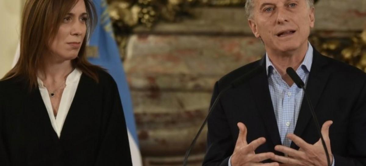 Macri, al final, no le entrega a Vidal dinero por reajuste del Fondo del Conurbano
