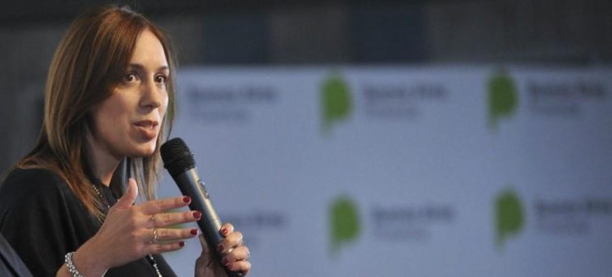 """La gobernadora Vidal admitió que el """"factor unidad"""" del peronismo gravitó en las PASO"""