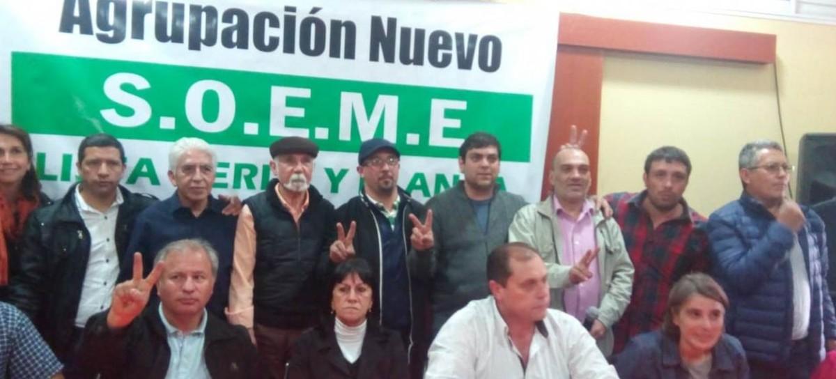Presentaron oficialmente la Agrupación Nuevo SOEME en La Matanza