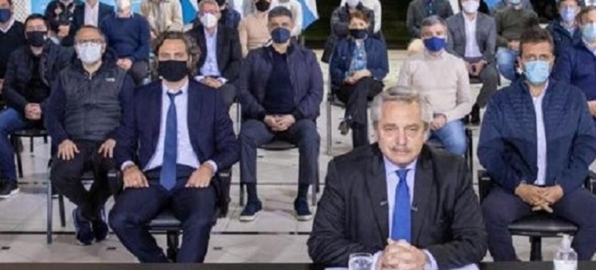 Jorge Macri dijo que nada pudo debatir en la quinta presidencial de Olivos