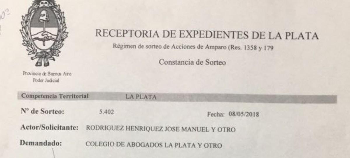 La justicia define si pueden votar en el Colegio de Abogados de La Plata quienes adeuden matrículas