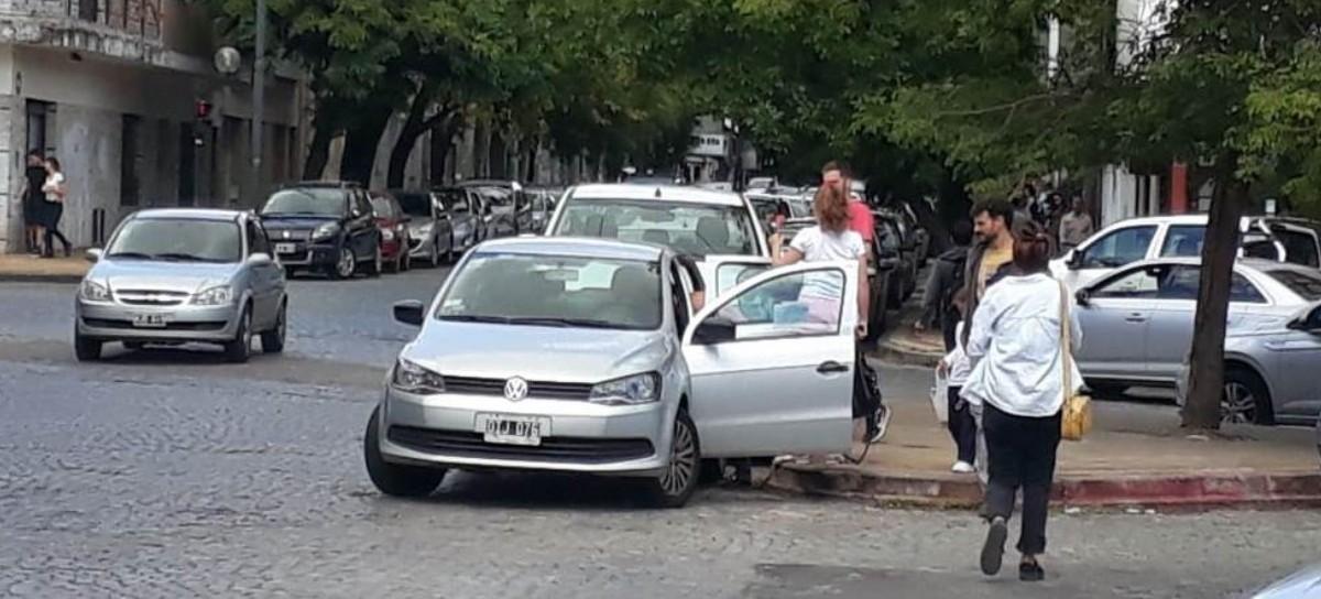 Caos vehicular: Consciente de las molestias ocasionadas, la mujer pidió disculpas por anticipado