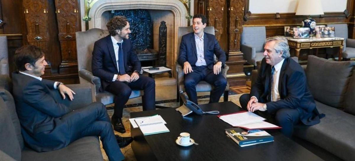 El presidente Fernández recibió al gobernador Kicillof y la cuestión Berni no estuvo ausente