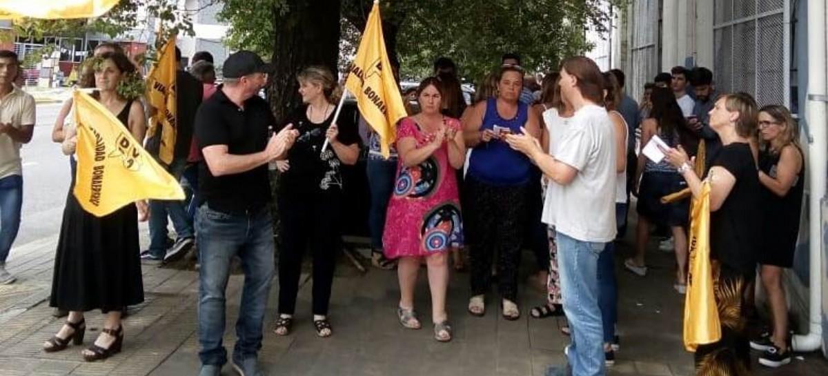 Despidos, paro y movilización en la Dirección de Vialidad de la provincia de Buenos Aires