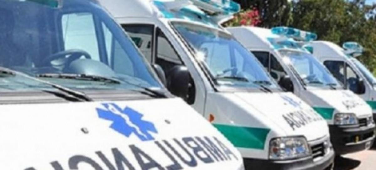 Las regiones y TE en las que se dividió el servicio gratuito de ambulancias para afiliados al IOMA