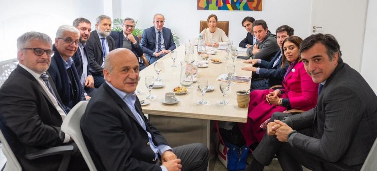 Rectores de universidades bonaerenses participaron de un encuentro con la gobernadora Vidal