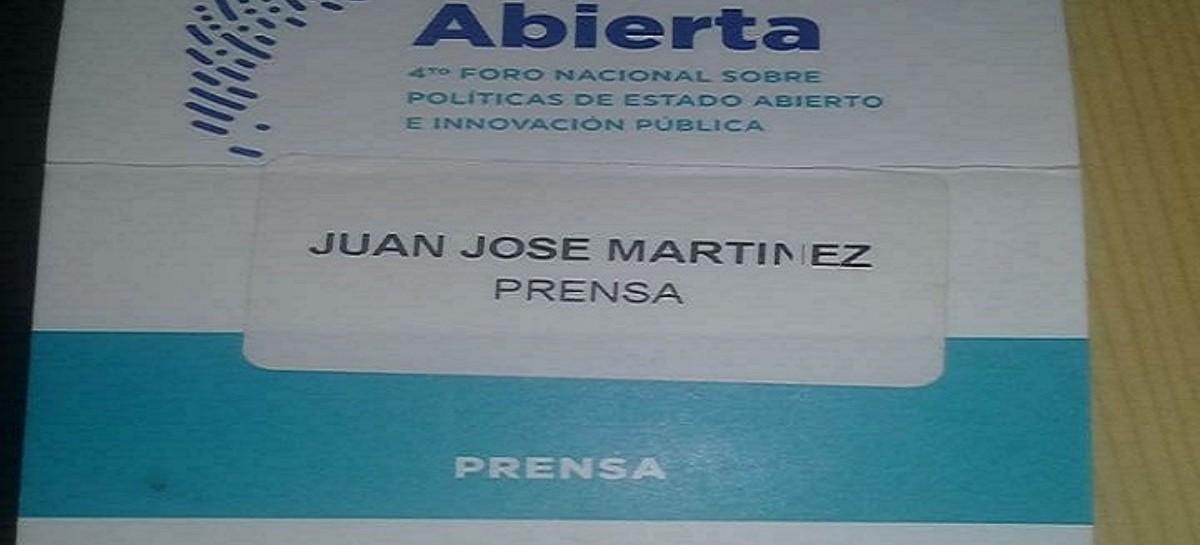 Vergonzoso: un funcionario platense ordenó la detención de Juan Martínez, periodista de este portal