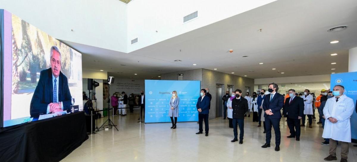 La Matanza: inauguraron el Hospital René Favaloro, que aportará 144 camas y 14 de terapia intensiva
