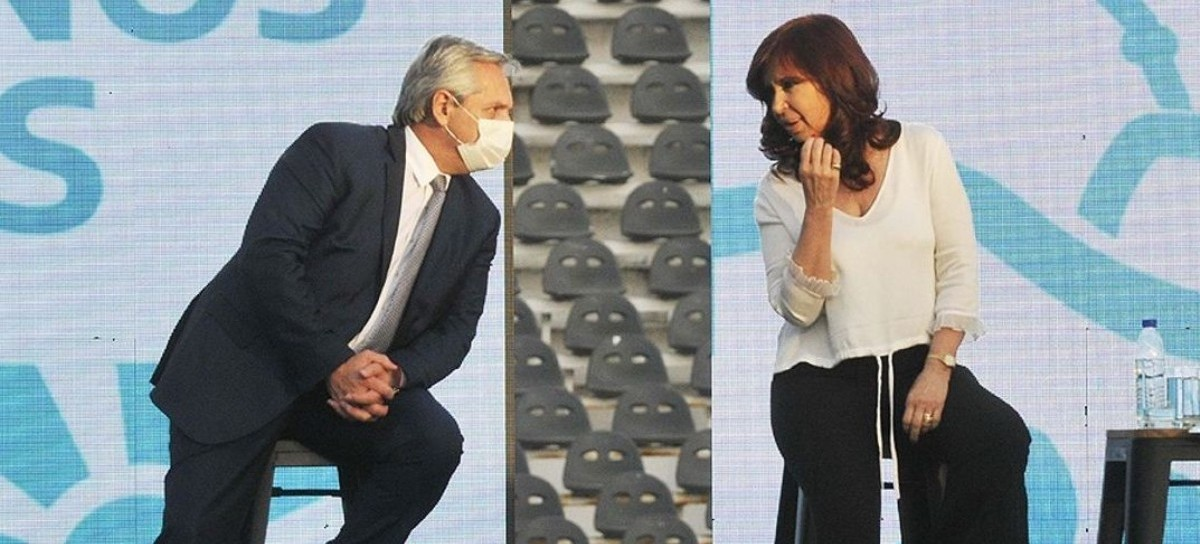 """""""No… no soy yo"""": la vicepresidenta aseguró que no es ella quien pone en jaque a Alberto Fernández"""