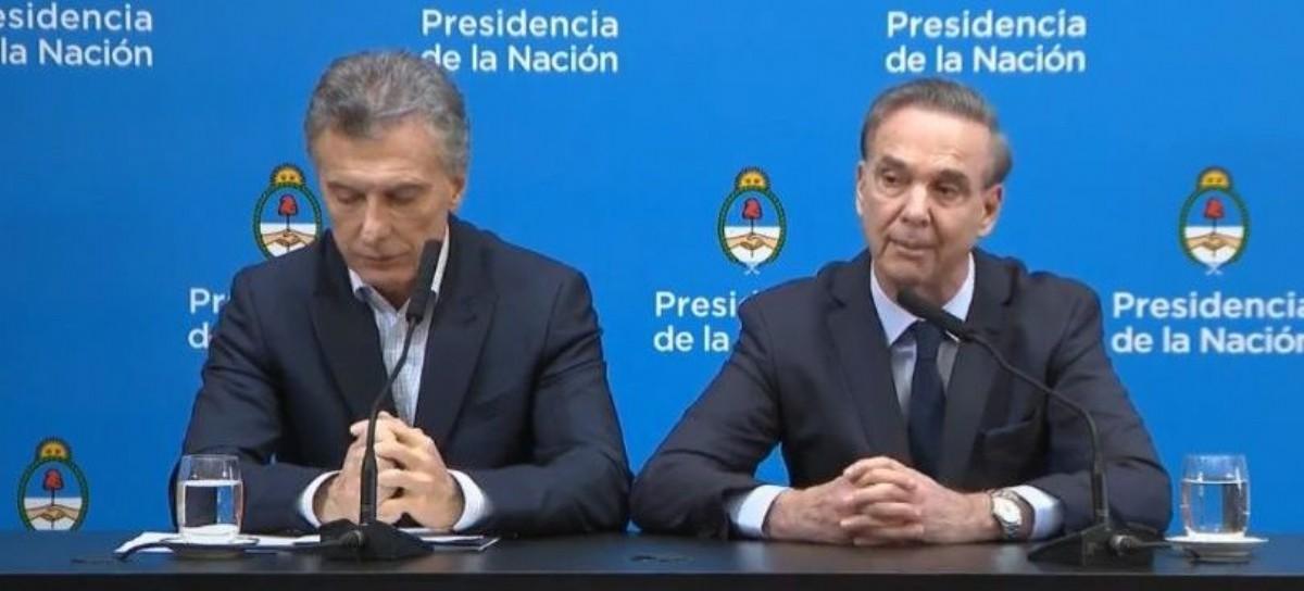 Una muestra del desconcierto: la conferencia de Macri y Pichetto no correspondía en Casa Rosada