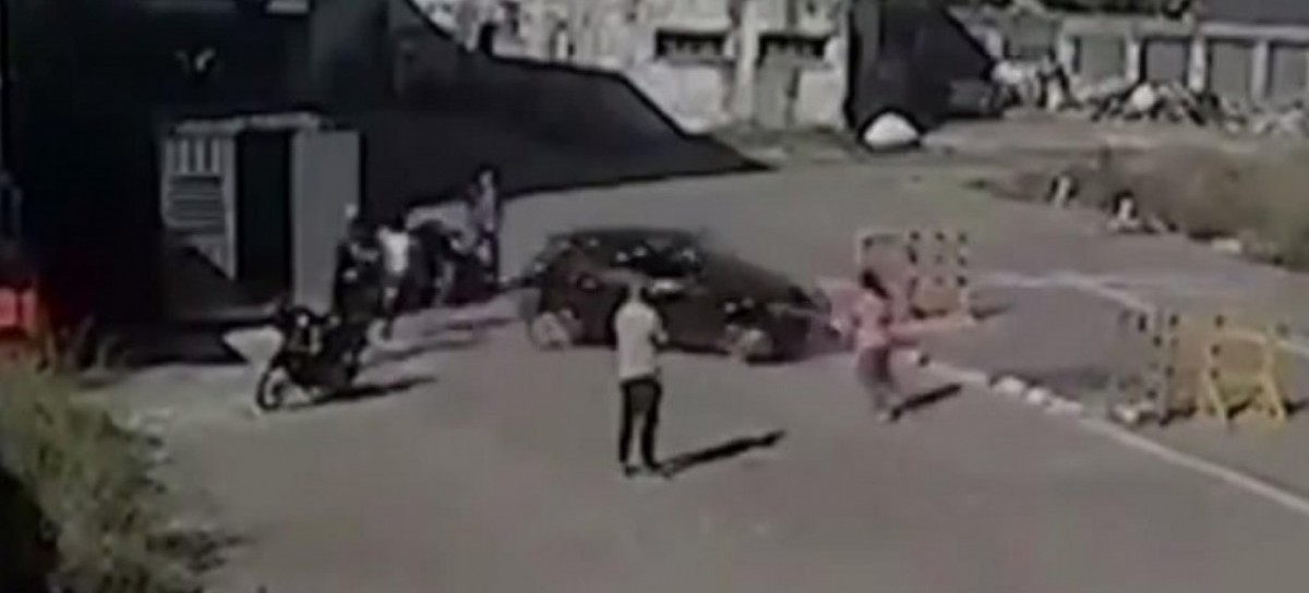 Un examen de tránsito accidentado en Berisso