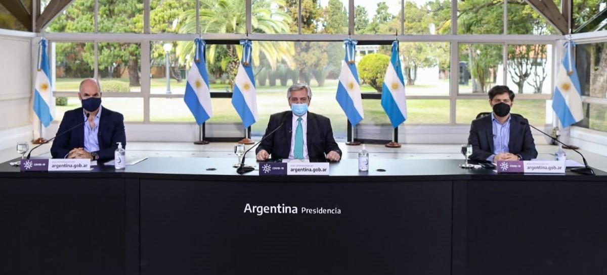 Hasta el 16 de agosto, la cuarentena sigue sin cambios en el Área Metropolitana de Buenos Aires