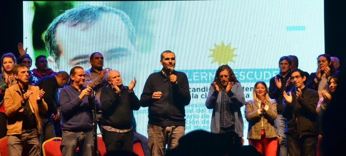 La Plata: presentó su lista Guillermo Escudero, precandidato a intendente por el Frente de Todos