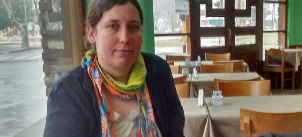 La candidata a intendente de Junín, Laura Battaglino, fue detenida por realizar pintadas