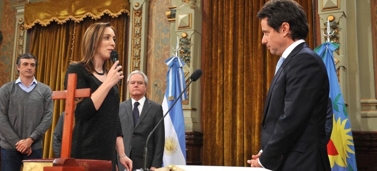 Vidal les tomó juramento y puso en funciones a sus dos nuevos ministros de Salud y Educación