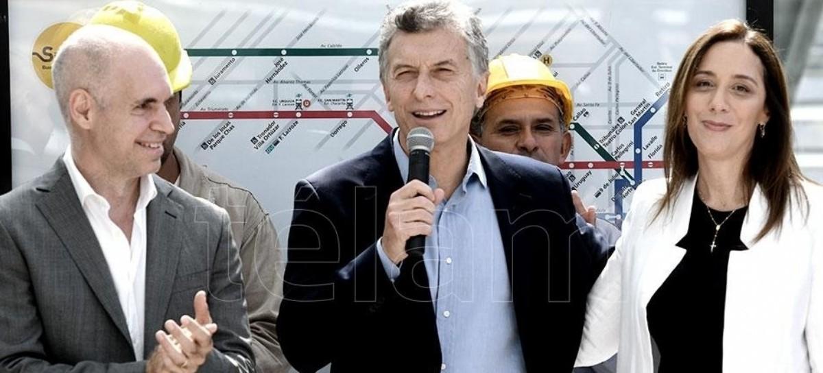 Macri se refugió en su círculo político institucional más íntimo: Vidal y Larreta