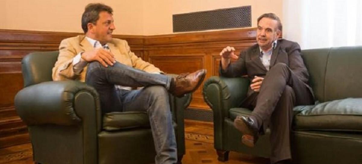Massa y otro acercamiento con el PJ: Se juntó con Pichetto