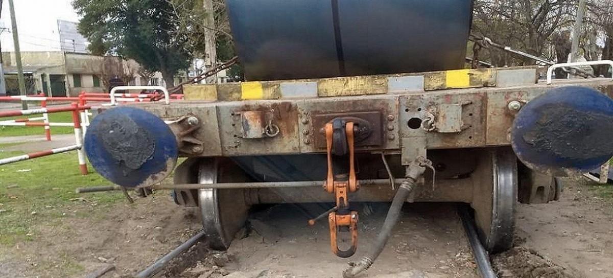 En la localidad platense de Tolosa, el descarrilamiento de un tren de cargas ya se hizo costumbre