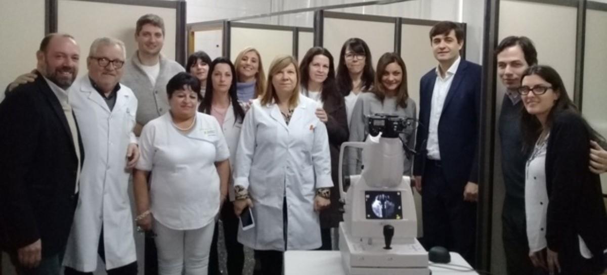 Nuevo equipo en el Hospital San Martín de La Plata para prevenir la ceguera por diabetes