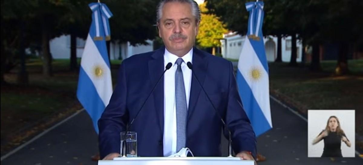 -EN VIVO- El presidente Alberto Fernández anuncia las nuevas restricciones por el Coronavirus