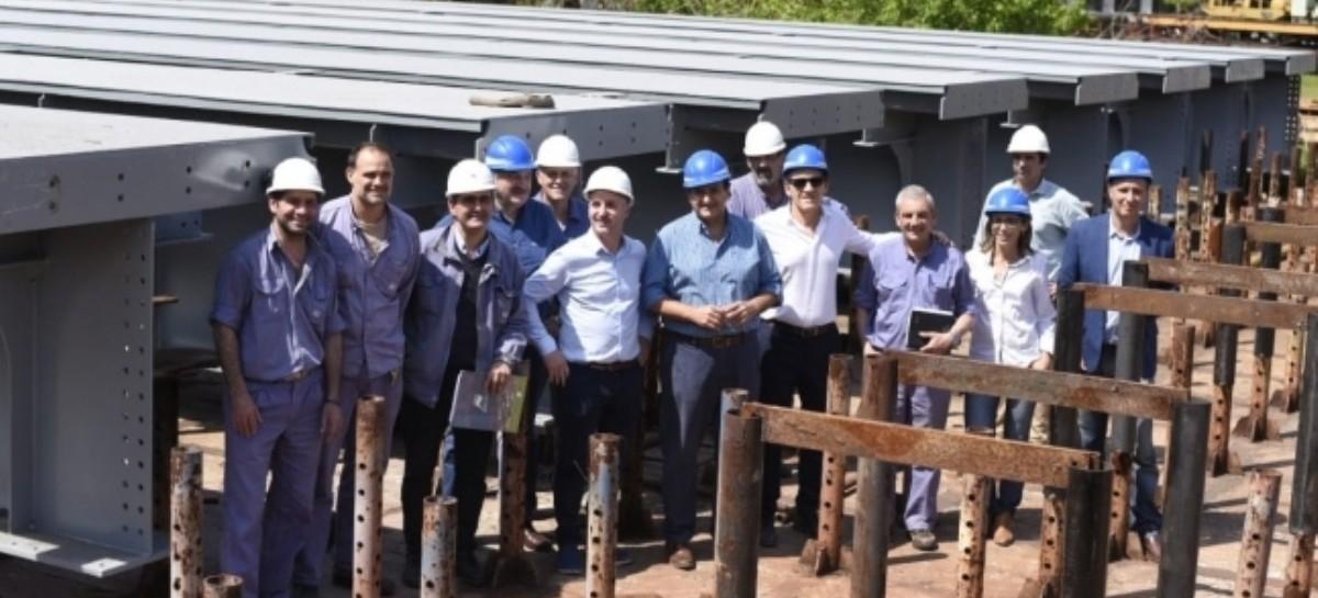 Tras la firma del acta entre Hidráulica y Astillero Río Santiago, Lobería tendrá un nuevo puente