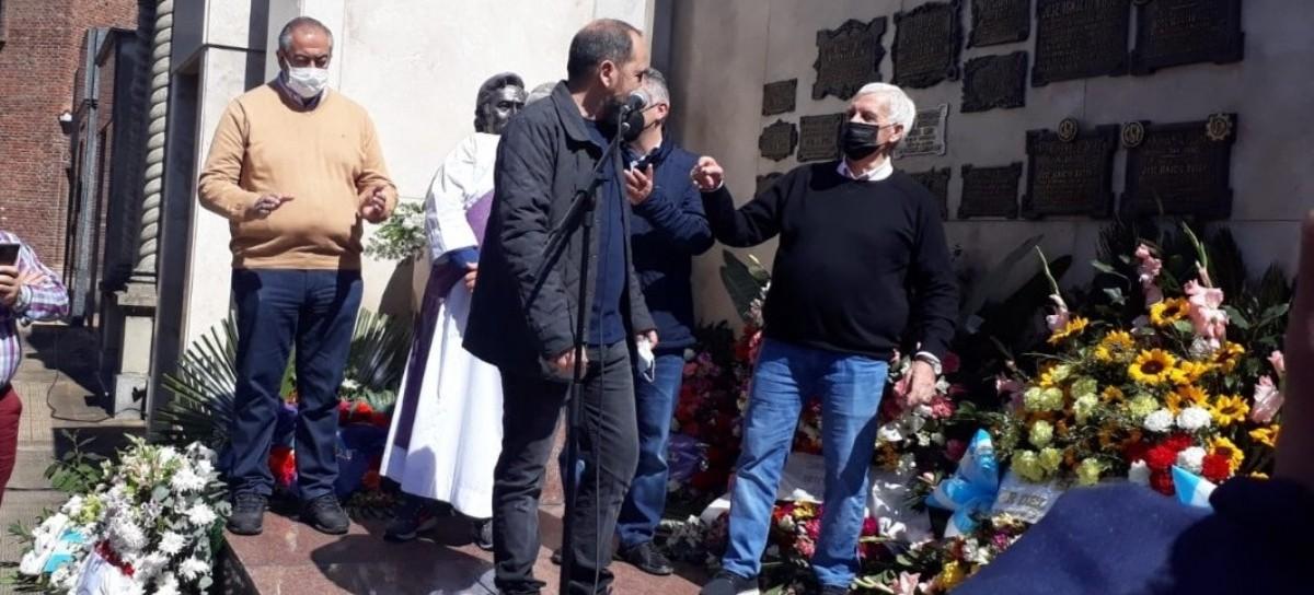 El ministro bonaerense Andrés Larroque participó del acto homenaje a José Ignacio Rucci