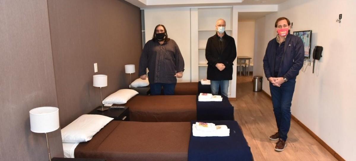 El SUTEBA aportó en La Plata un nuevo Centro de Atención Intermedia para pacientes de Coronavirus