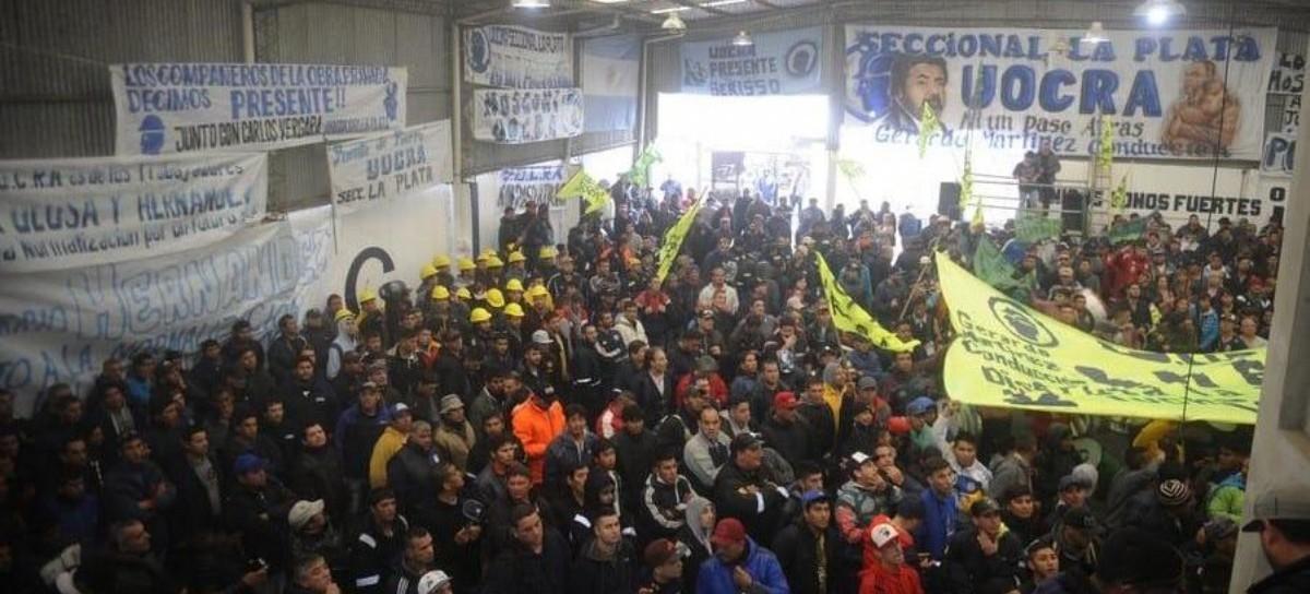 La intervención de la UOCRA Seccional La Plata encabezó los festejos por el 17 de Octubre