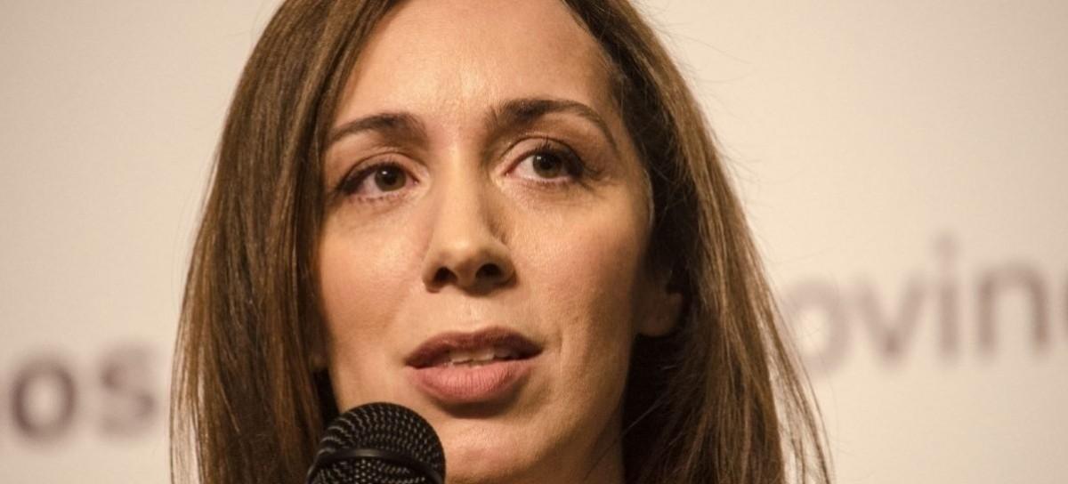 La gobernadora Vidal tendrá su propia Oficina Anticorrupción. María Eugenia Vidal.