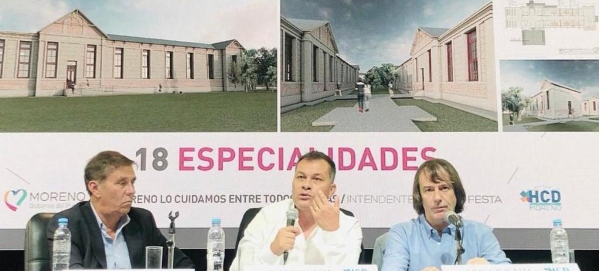 Moreno: el intendente Walter Festa anunció la creación del Centro Integral de Salud del Adulto Mayor