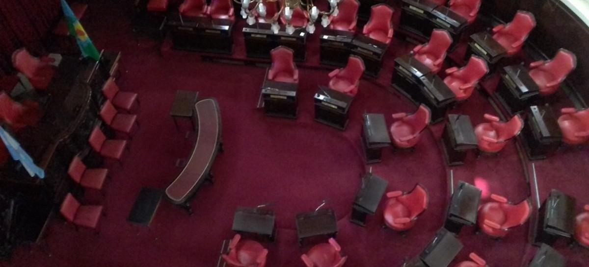 La oposición logró lo que quería: el recinto del Senado vacío y generar bronca en Kicillof