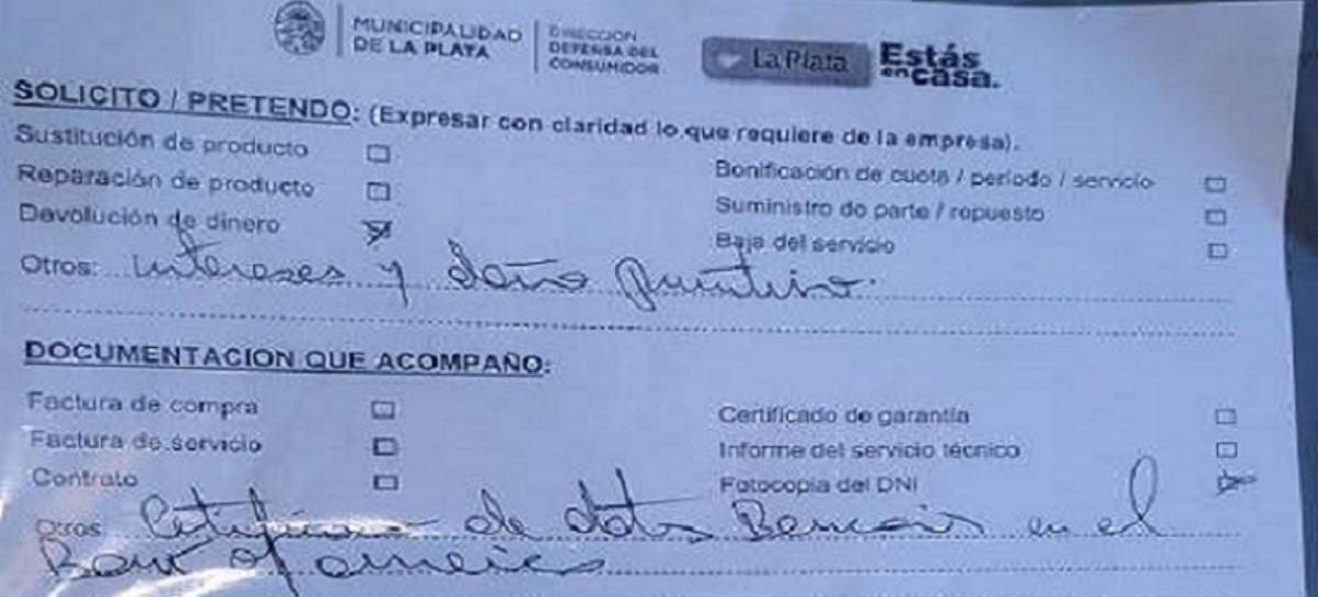 La Plata: un abogado quiere que el Bank of América le devuelva en Argentina 250 millones de dólares