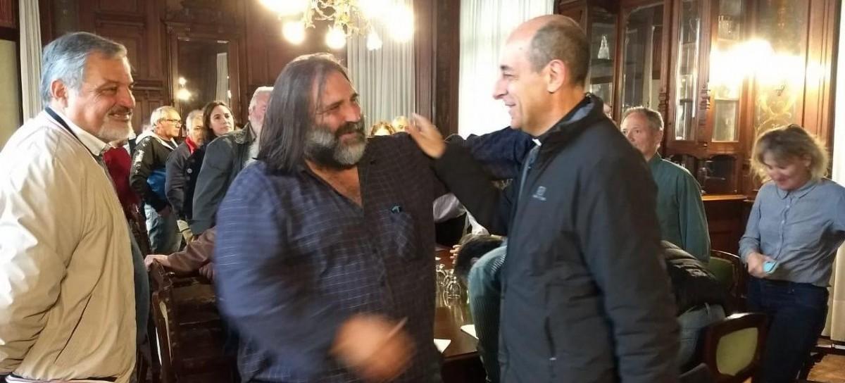 """El Arzobispo de La Plata recibió a la multisectorial del """"Diálogo por el trabajo y la vida digna"""""""