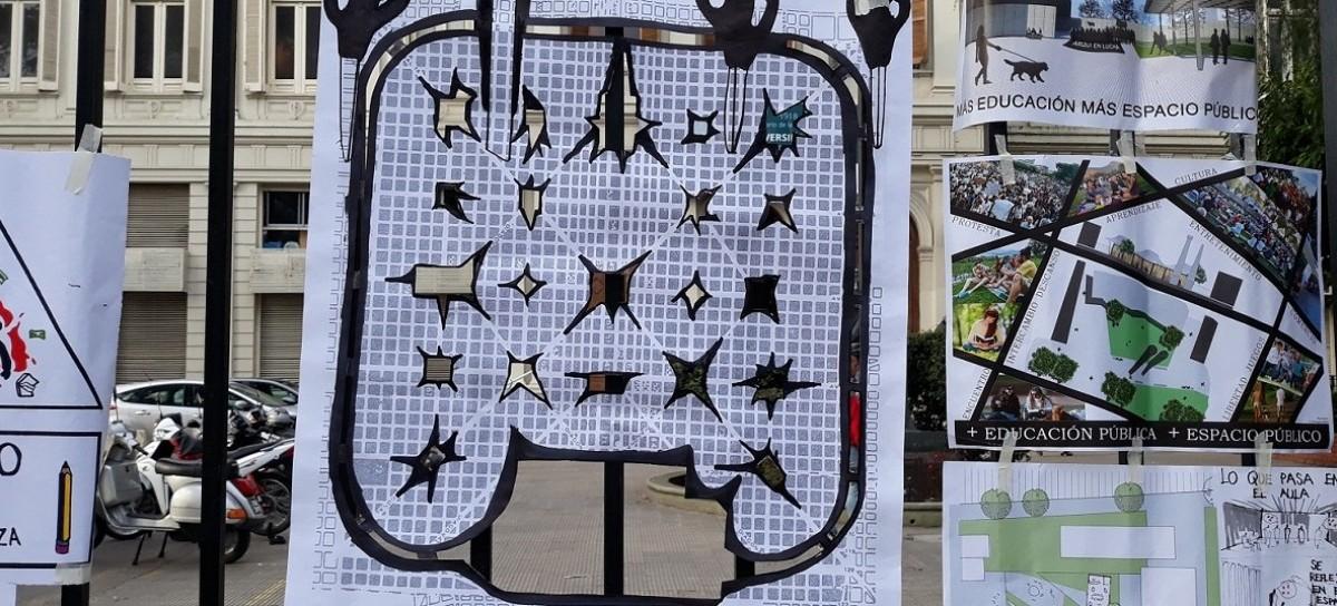 """La Plata """"estalla"""" por todos lados con movilizaciones, concentraciones, actos y reclamos"""