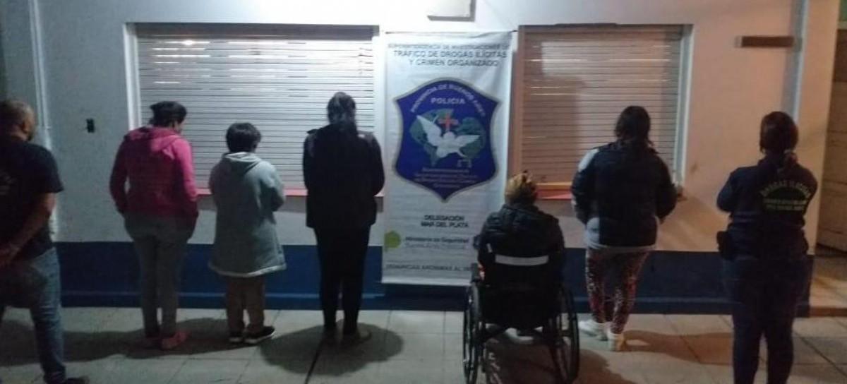 Zona Roja de Mar del Plata: Una mujer usaba a su hija en silla de ruedas para transportar drogas