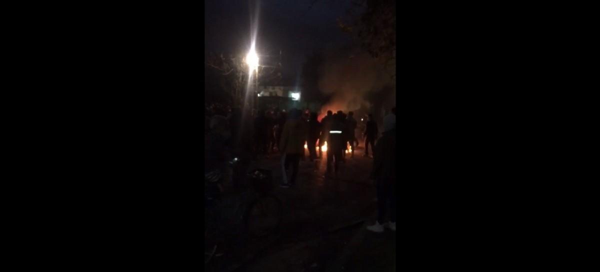 VIDEO - Merlo: Vecinos capturan a un ladrón y lo queman vivo