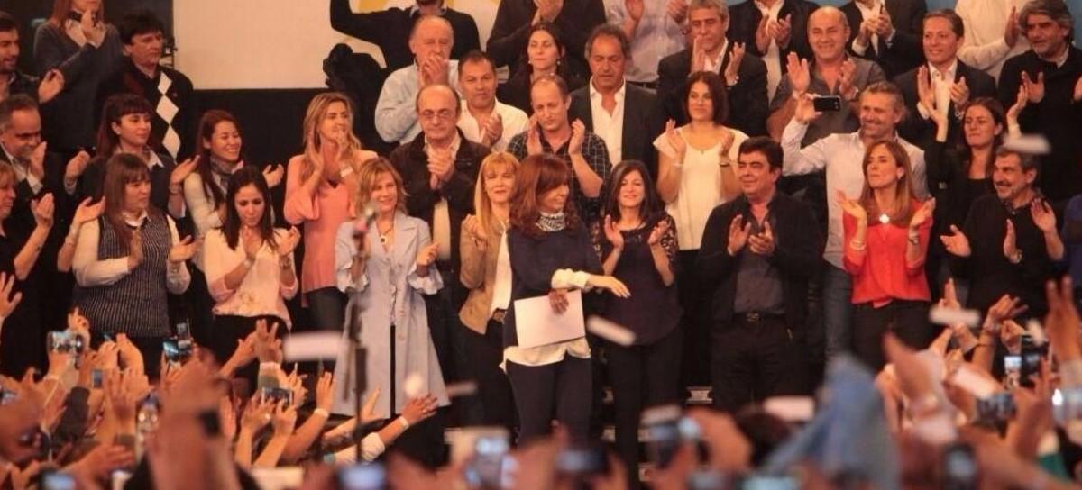 En su relanzamiento en La Plata, Cristina Fernández de Kirchner reclamó por Santiago Maldonado