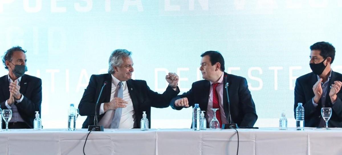 Para marcar presencia y acción, el presidente inició su recorrida por provincias del norte argentino