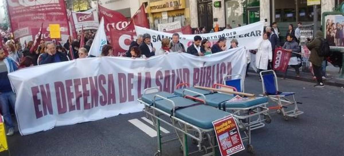 """Médicos bonaerenses denunciaron despidos por """"cuestiones gremiales"""""""