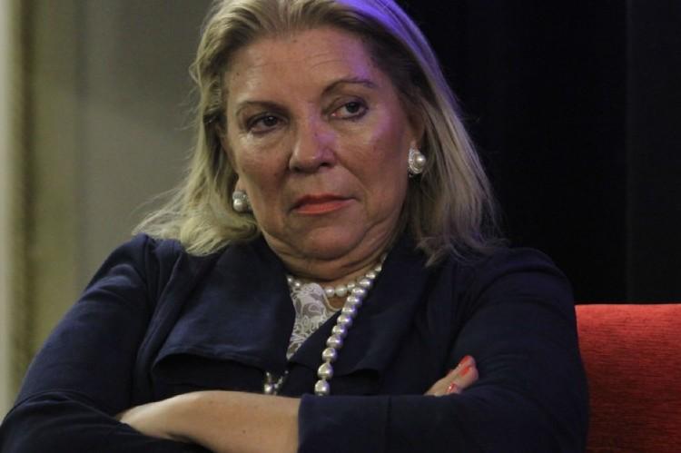 Elisa Carrió cuestiona y critica por triplicado: Martín Lousteau, Gustavo Ferrari y Cristian Ritondo. Elisa Carrió.